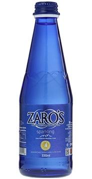 Zaros_Ζαρός Ανθρακούχο γυάλινο 330ml